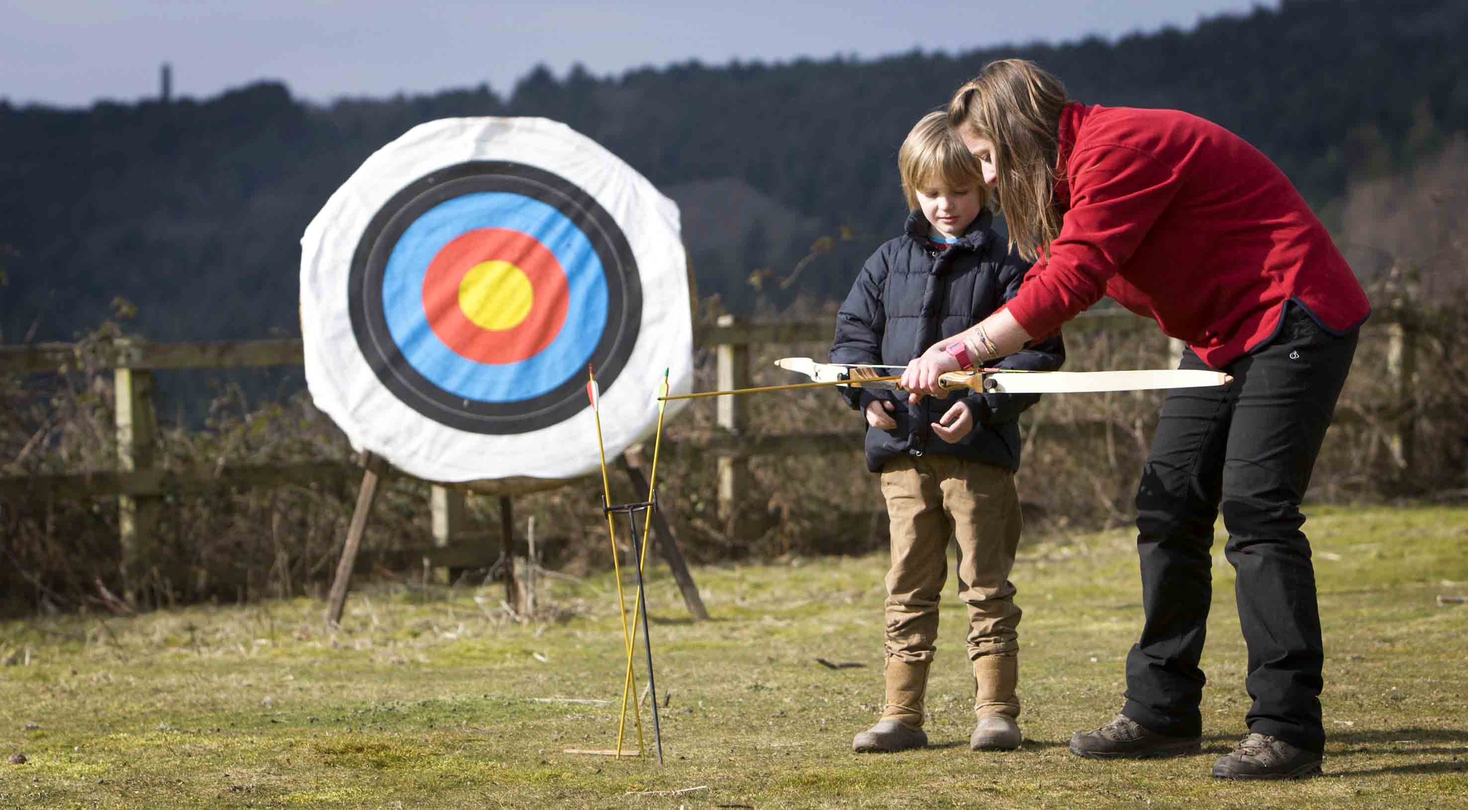 Archery tamar trails centre outdoor activities treesurfers