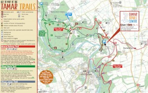 Tamar Trails map image