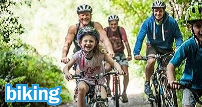 family biking tamar trails