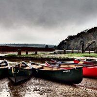 Guided Canoe trip river Tamar