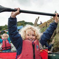 canoe trips river tamar families