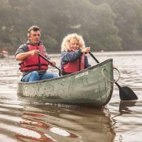 Guided Family Canoe Trips in August