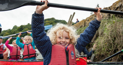 Guided Family Canoe Trips