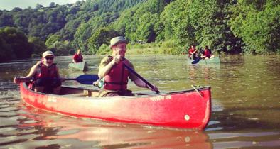 canoe-tamar-river
