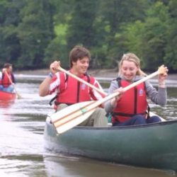 Guided Family Canoe Trips in July